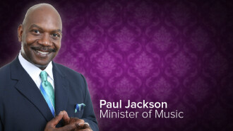 Paul Jackson, Minister of Music