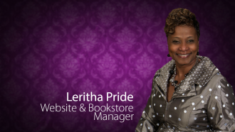 Leritha Pride, Website & Bookstore Manager