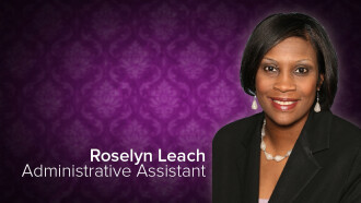 Roselyn Leach, Administrative Assistant