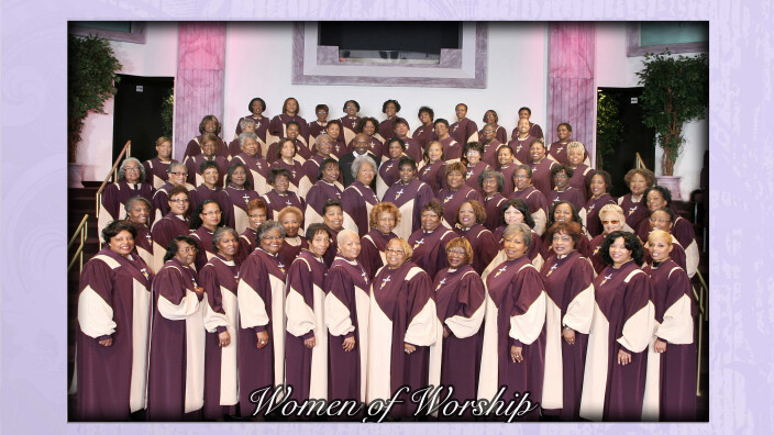 Women of Worship Choir Rehearsal