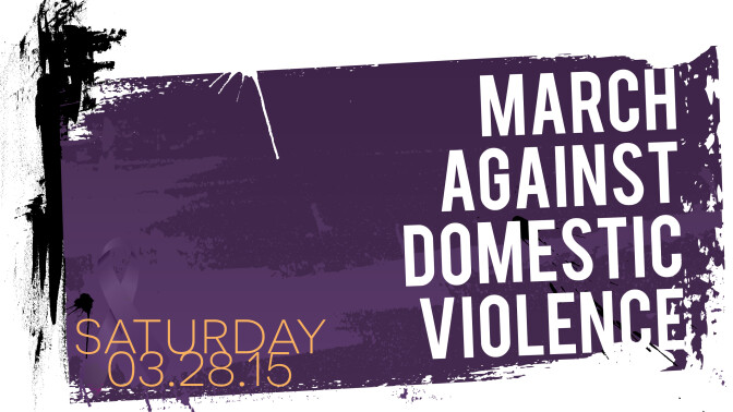 March Against Domestic Violence