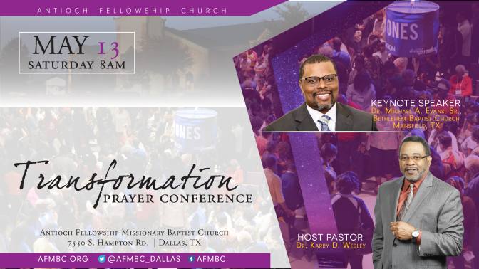 Transformation Prayer Conference
