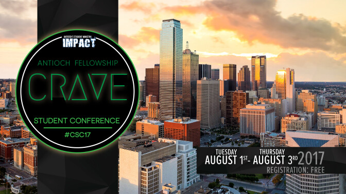 Crave Student Conference 2017