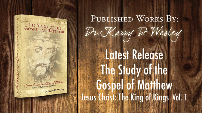 New Release by Dr. Wesley