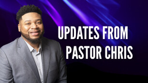 A Note from Pastor Chris