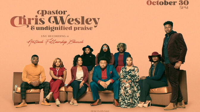 Live Recording with Pastor Chris Wesley & Undignified Praise